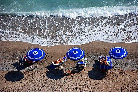 Sunbathing, Fiascherino, Liguria, Italy, Mediterranean, Europe