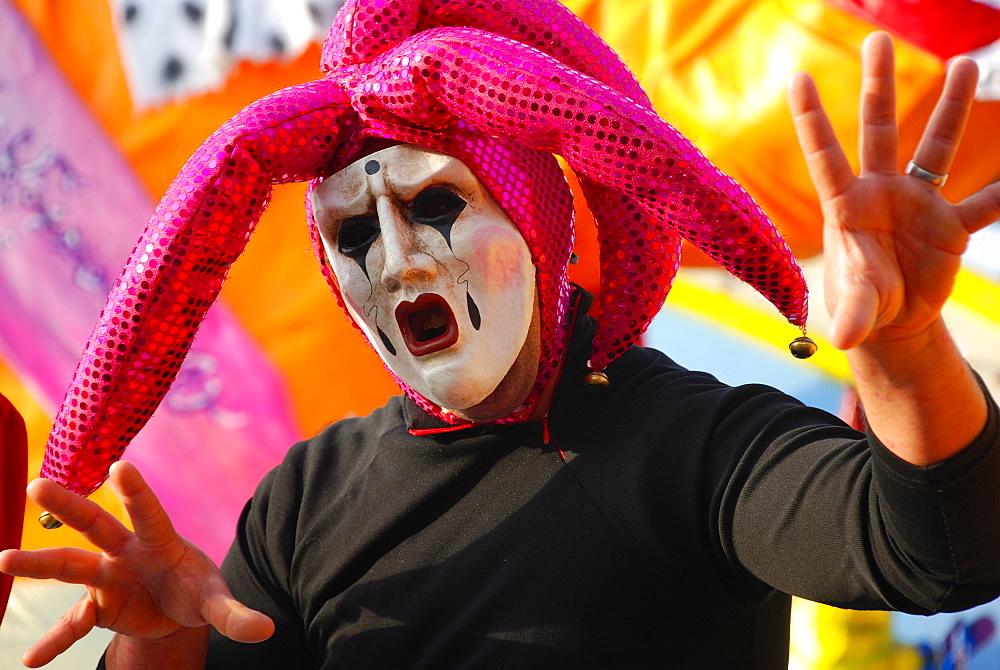 Carnival 2008, Viareggio, Tuscany, Italy, Europe - 746-49013