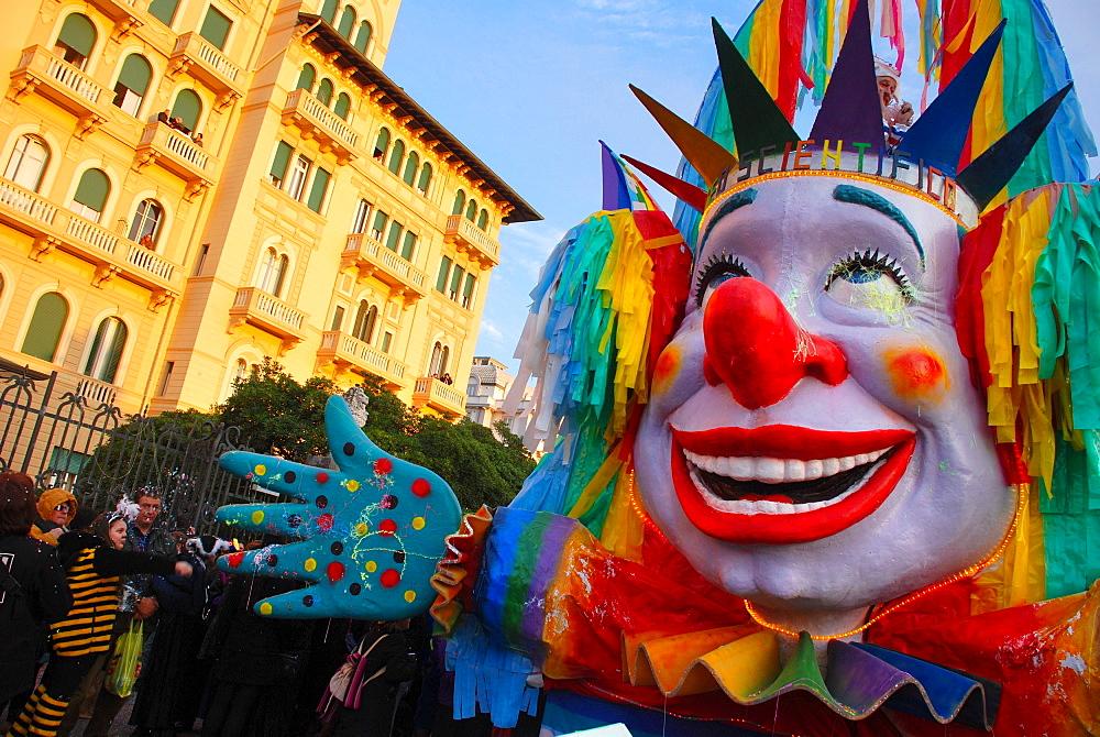 Carnival 2008, Viareggio, Tuscany, Italy, Europe - 746-49016