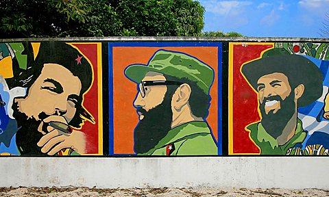 Mural degli Eroi, Havana, Cuba, West Indies, Central America