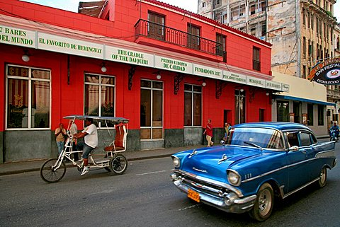 Bar Floridita, Havana, Cuba, West Indies, Central America