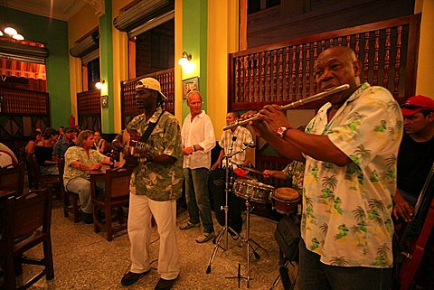 Bar Lluvia de Oro, Havana, Cuba, West Indies, Central America