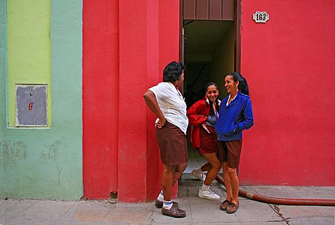 Women, Havana, Cuba, West Indies, Central America