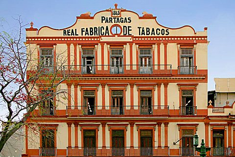Partagas Tobacco factory, Havana, Cuba, West Indies, Central America