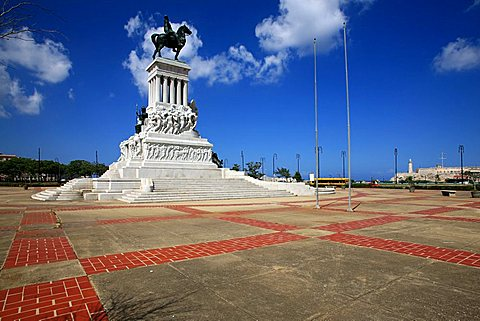 Maximo Gomez monument, Havana, Cuba, West Indies, Central America