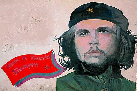 Mural, Che Guevara, Havana, Cuba, West Indies, Central America