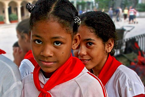 Students, Havana, Cuba, West Indies, Central America