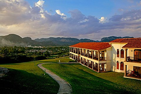 La Ermita hotel, Vi, Vinales, Cuba, West Indies, Central America