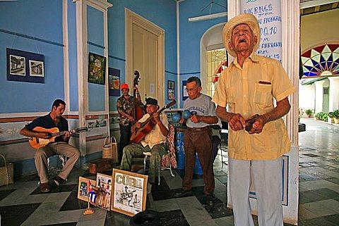 Casa della Musica, Trinidad, Cuba, West Indies, Central America