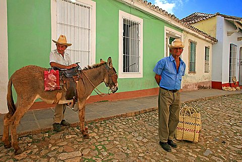 Portrait, Trinidad, Cuba, West Indies, Central America