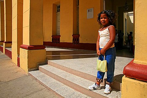 Child, Trinidad, Cuba, West Indies, Central America