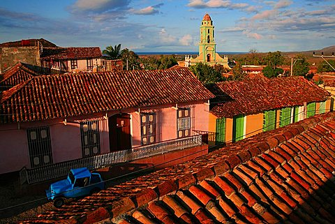 Cityscape, Trinidad, UNESCO World Heritage Site, Cuba, West Indies, Central America