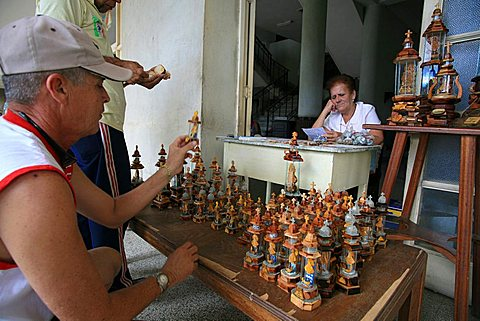 Devotional tools, Santiago de Cuba, Cuba, West Indies, Central America