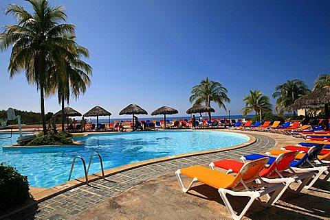 Brisas Sierra Mar hotel, South Coast, Playa Las Coloradas, Cuba, West Indies, Central America