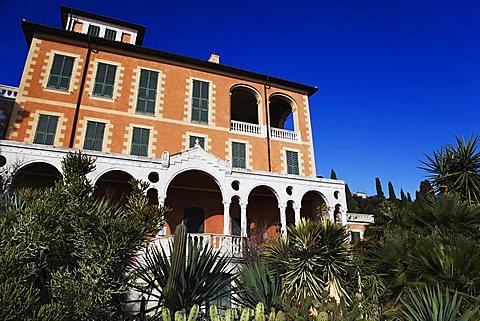 Villa Hanbury, Ventimiglia, Liguria, Italy, Europe