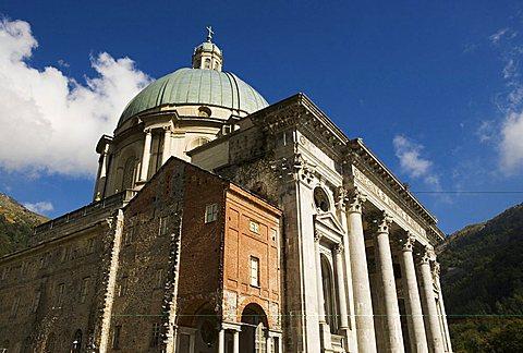 Basilica Superiore (Basilica Nuova), Sanctuary, Oropa, Piedmont, Italy, Europe