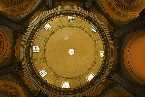 Dome, Basilica Superiore (Basilica Nuova), Sanctuary, Oropa, Piedmont, Italy, Europe