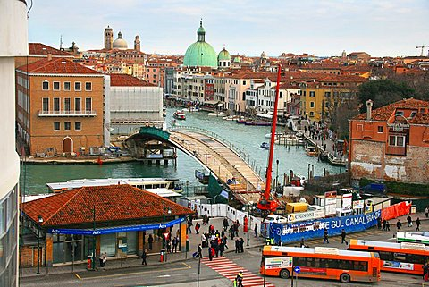 New Calatrava bridge, Venice, Veneto, Italy, Europe