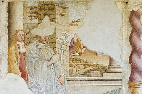 Trinita church, Casnigo, Lombardy, Italy