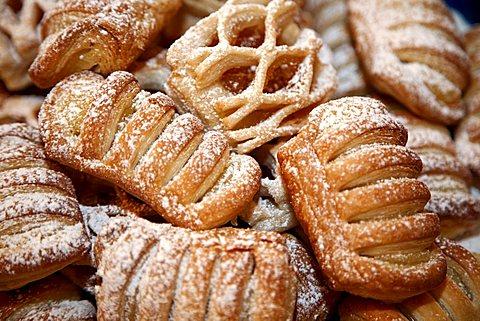 Cakes, Genoa, Ligury, Italy