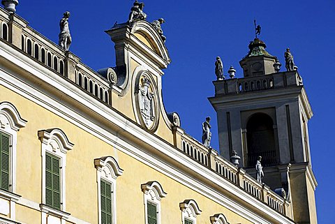 The Ducal Palace of Colorno also know as Reggia di Colorno, 18th Century, Colorno, Parma, Emilia Romagna, Italy