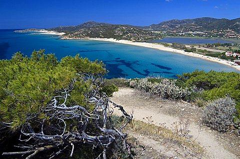 Coast, Chia, Domus de Maria, Sardinia, Italy