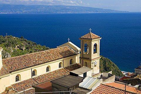Cityscape, Scaletta Zanclea, Sicily, Italy