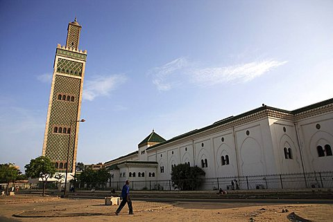 Grand Mosque, Dakar, Republic of Senegal, Africa