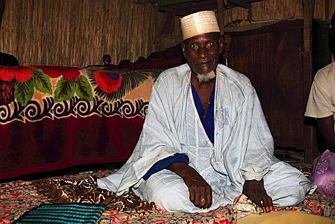 Holy man, Touba, Republic of Senegal, Africa