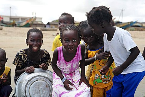 Children, Kafountine, Republic of Senegal, Africa