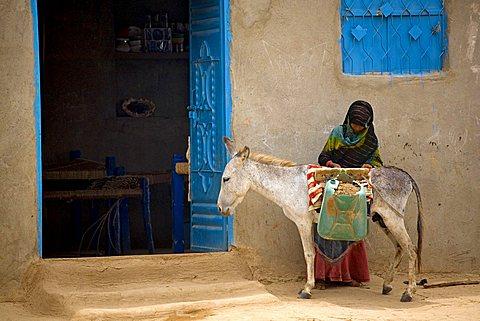 Daily life, Az Zuhrah, Yemen, Middle East