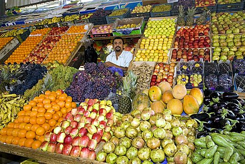 Fruit market, Al Mukalla, Yemen, Middle East