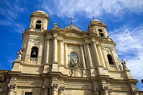 San Francesco Church, Catania, Sicily, Italy, Europe
