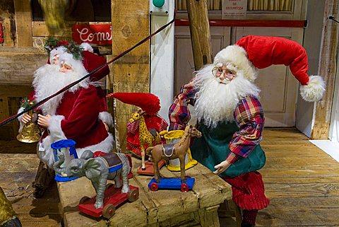 Native Village Flover Christmas Market, Bussolengo, Veneto, Italy