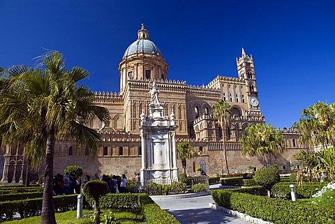 Cathedral, Palermo, Sicily, Italy