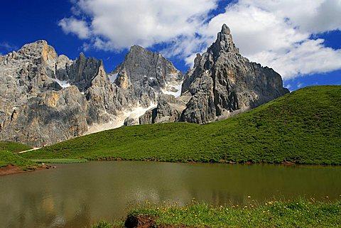 Cima Vezzana and Cimon della Pala, Pale di San Martino, Trentino, Italy