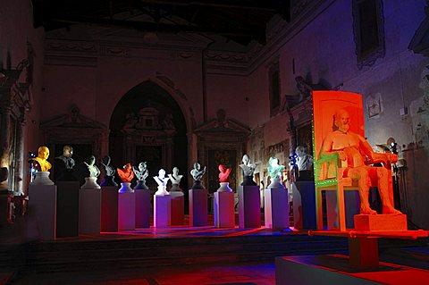 Exhibition, Sant'Agostino church, Pietrasanta, Tuscany, Italy