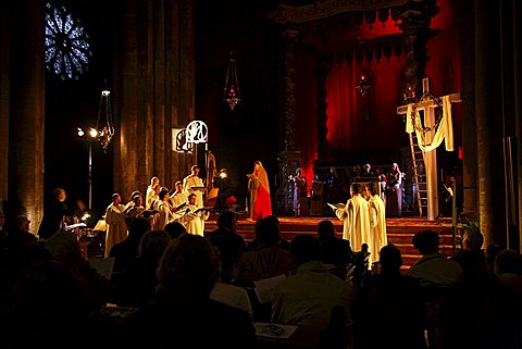 Concert of holy music, Trento Cathedral, Trento, Trentino, Italy