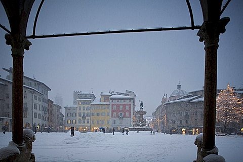 Piazza Duomo, Trento, Trentino Alto Adige, Italy