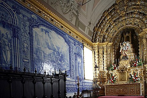 Parish church, Vila Franca do Campo, Sao Miguel Island, Azores, Portugal, Europe