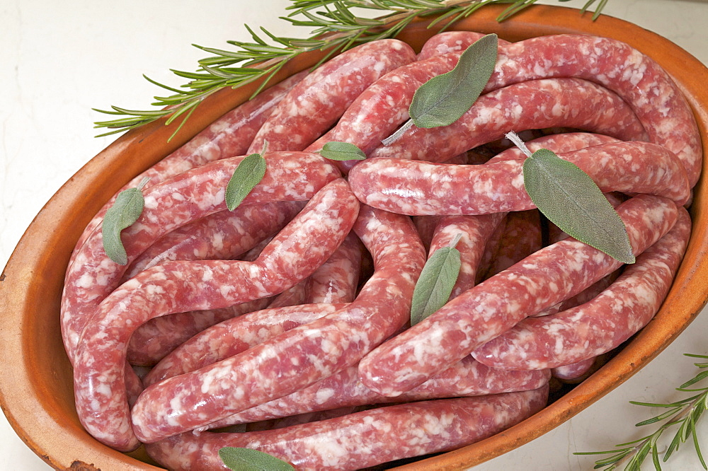 Sausages, Belli delicatessen, Sopramonte, Trentino Alto Adige, Italy