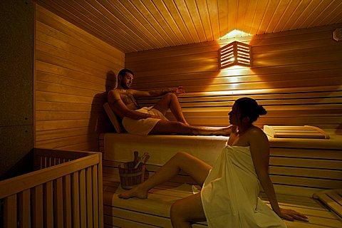 Sauna, Nevada hotel, Folgaria, Trentino Alto-Adige, Italy