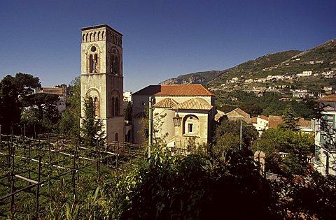 Cathedral of Ravello, Amalfi coast, Campania, Italy.