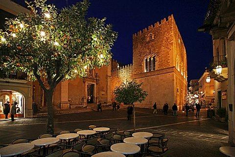 Palazzo Corvaja, Taormina, Sicily, Italy