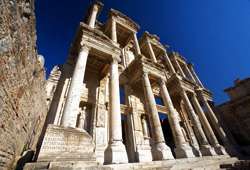 The Library of Celsus, Ephesus, Kusadasi,Turkey, Europe