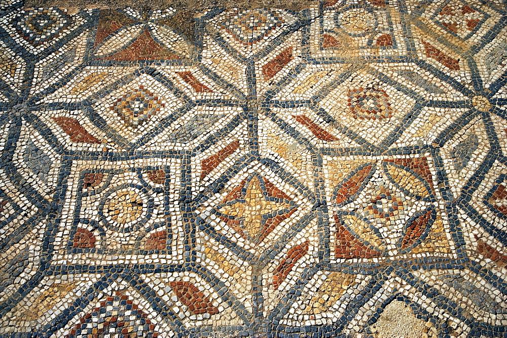 Roman mosaic tile floor, Ephesus, Kusadasi, Turkey; Europe