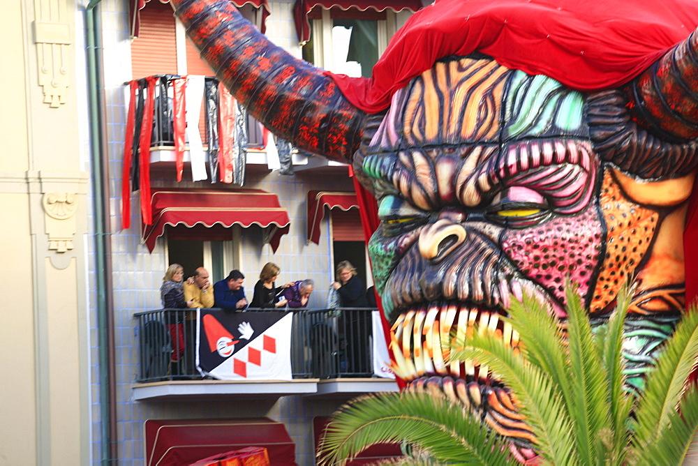 Viareggio Carnival, Viareggio, Lucca, Tuscany, Italy - 746-56154