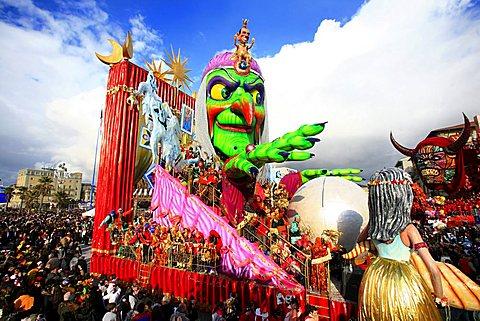 Viareggio Carnival, Viareggio, Lucca, Tuscany, Italy