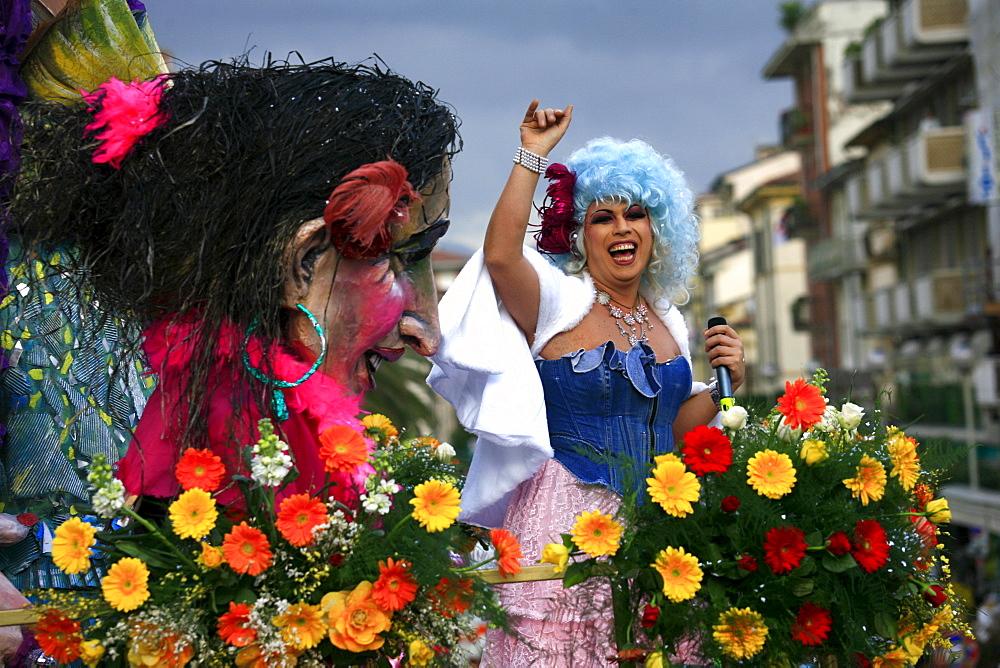 Viareggio Carnival, Viareggio, Lucca, Tuscany, Italy - 746-56169