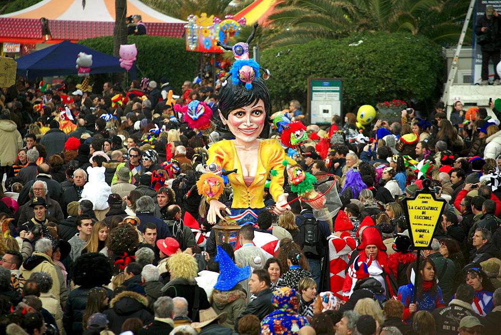 Viareggio Carnival, Viareggio, Lucca, Tuscany, Italy - 746-56189